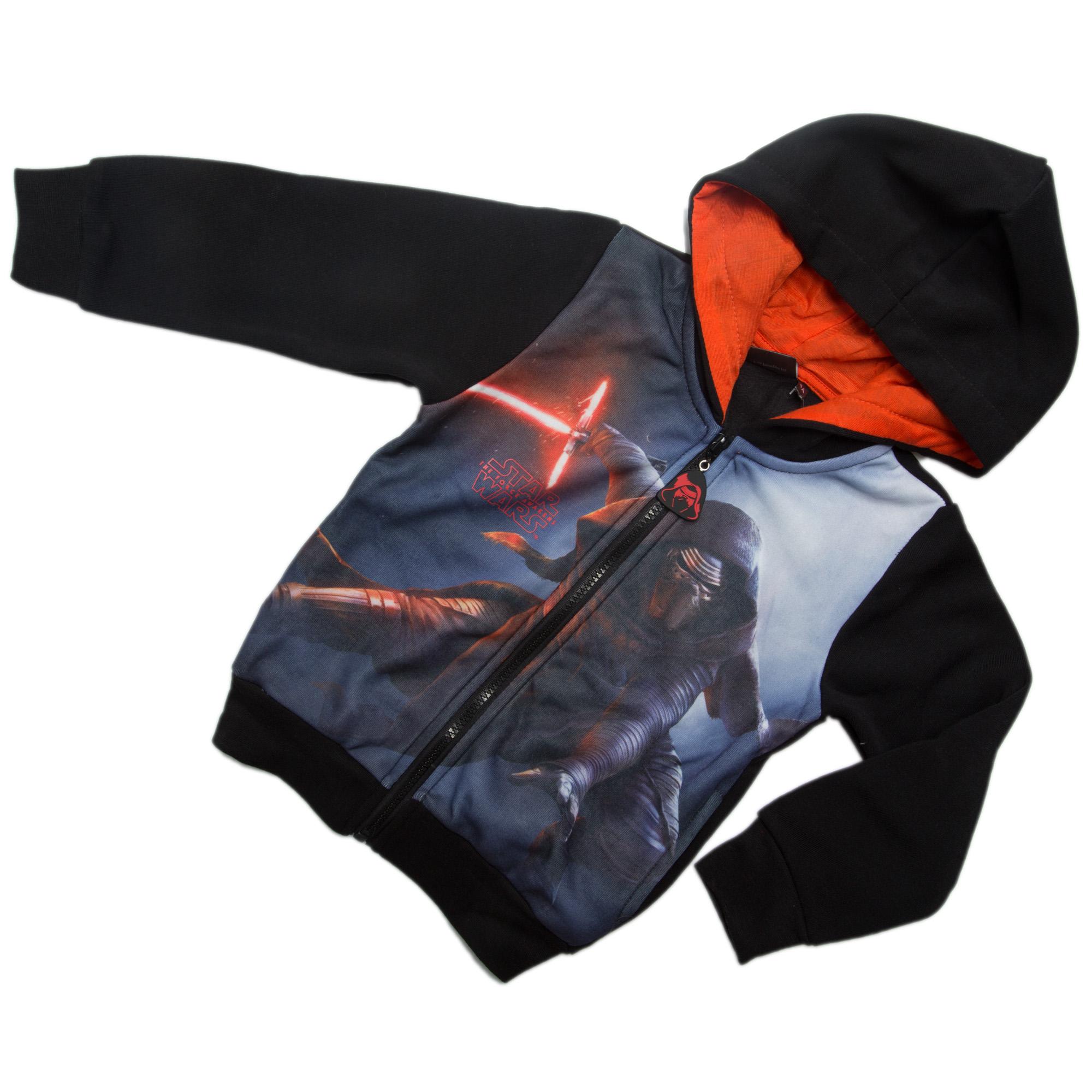 KidZaZa Кофта на молнии с капюшоном из трикотажа с начесом Звездные войны  Disney (Sun City) 740332e859ca3