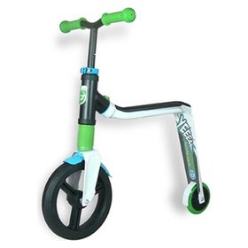 Самокат Scoot and Ride серии Highwayfreak 3.0 бело-зелено-синий, 3-5 лет до 50кг Scoot and Ride, SR-202310-WHITE-GREEN-BLUE
