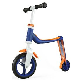 Самокат Scoot and Ride серии Highwaybaby сине-оранжевый, до 3 лет/20кг Scoot and Ride, SR-216271-BLUE-ORANGE