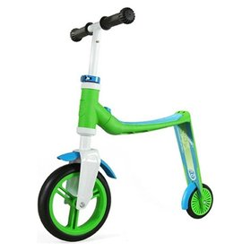 Самокат Scoot and Ride серии Highwaybaby зелено-синий, до 3 лет/20кг Scoot and Ride, SR-216271-GREEN-BLUE