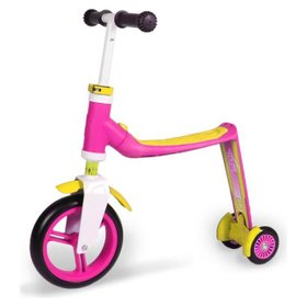 Самокат Scoot and Ride серии Highwaybaby+ розово-желтый, до 3 лет/20кг Scoot and Ride, SR-216272-PINK-YELLOW