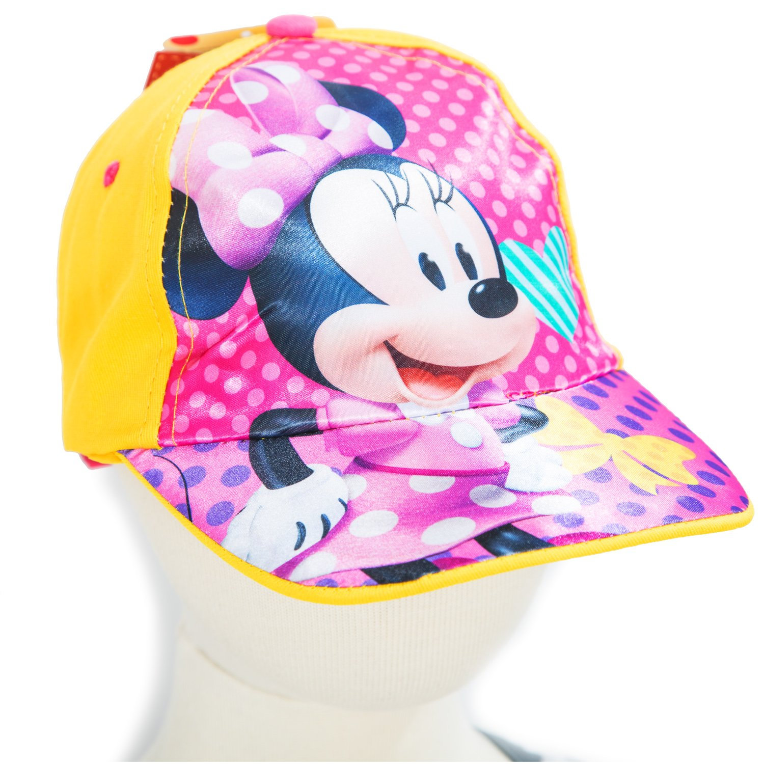 Кепка Минни Маус Disney (Arditex), WD12001_violet+yellow, 44-46, 44
